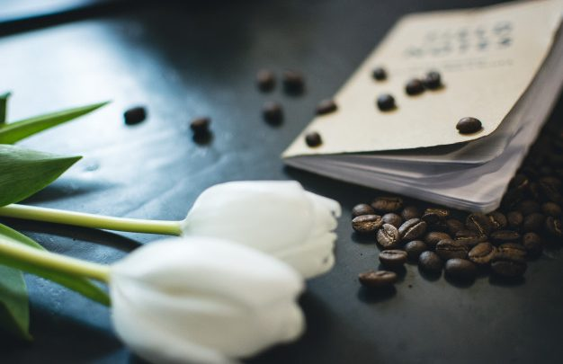 spilled coffee beans book tulips 449 19326320 626x405 - سلامٌ على روحك..